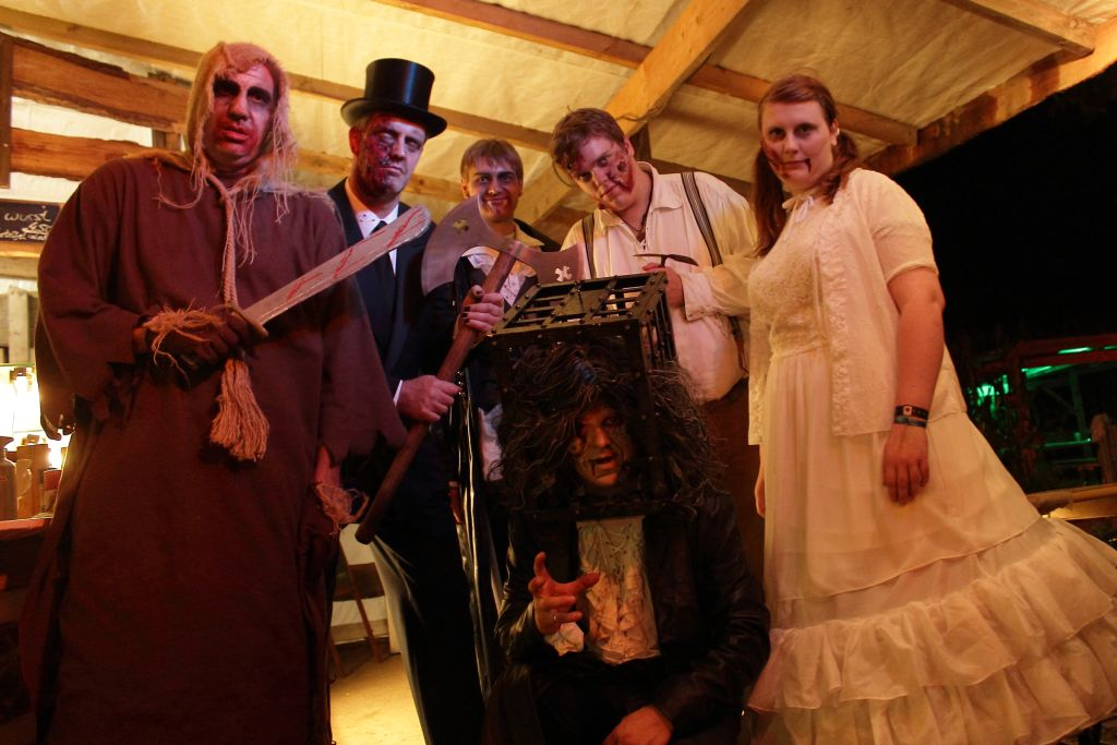 Screamteam IG-Grusel im Maislabyrinth 2014 in Jersbek