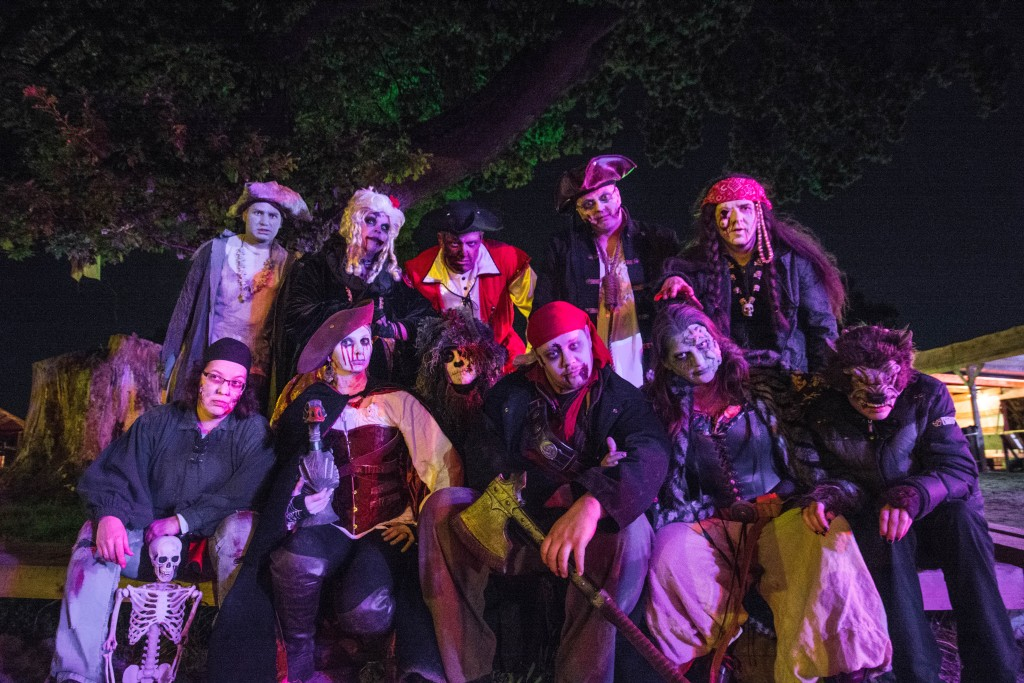 Screamteam IG-Grusel als Maisgespenst im Maislabyrinth 2015 in Jersbek