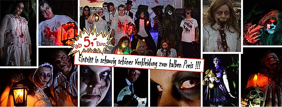 Screamteam IG-Grusel bei den Gruselnächten im Maislabyrinth 2016 in Jersbek